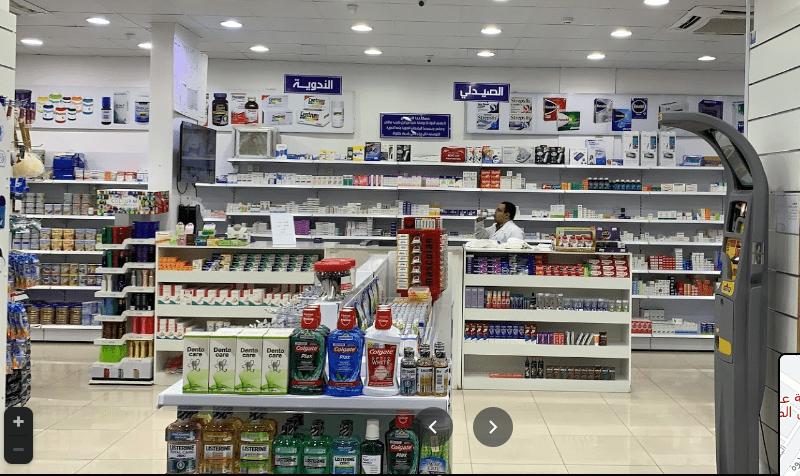 صيدلية عبق الرياض في النظيم من الداخل